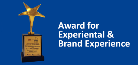 Award for Experiential & Brand Experience