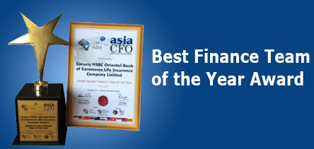 Best Finance Team of the Year Award