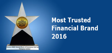 Most Trusted Financial Brand 2016 Award