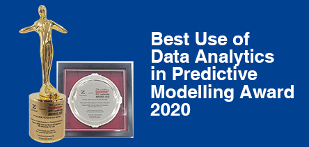 Best Use of Data Analytics in Predictive Modelling Award 2020